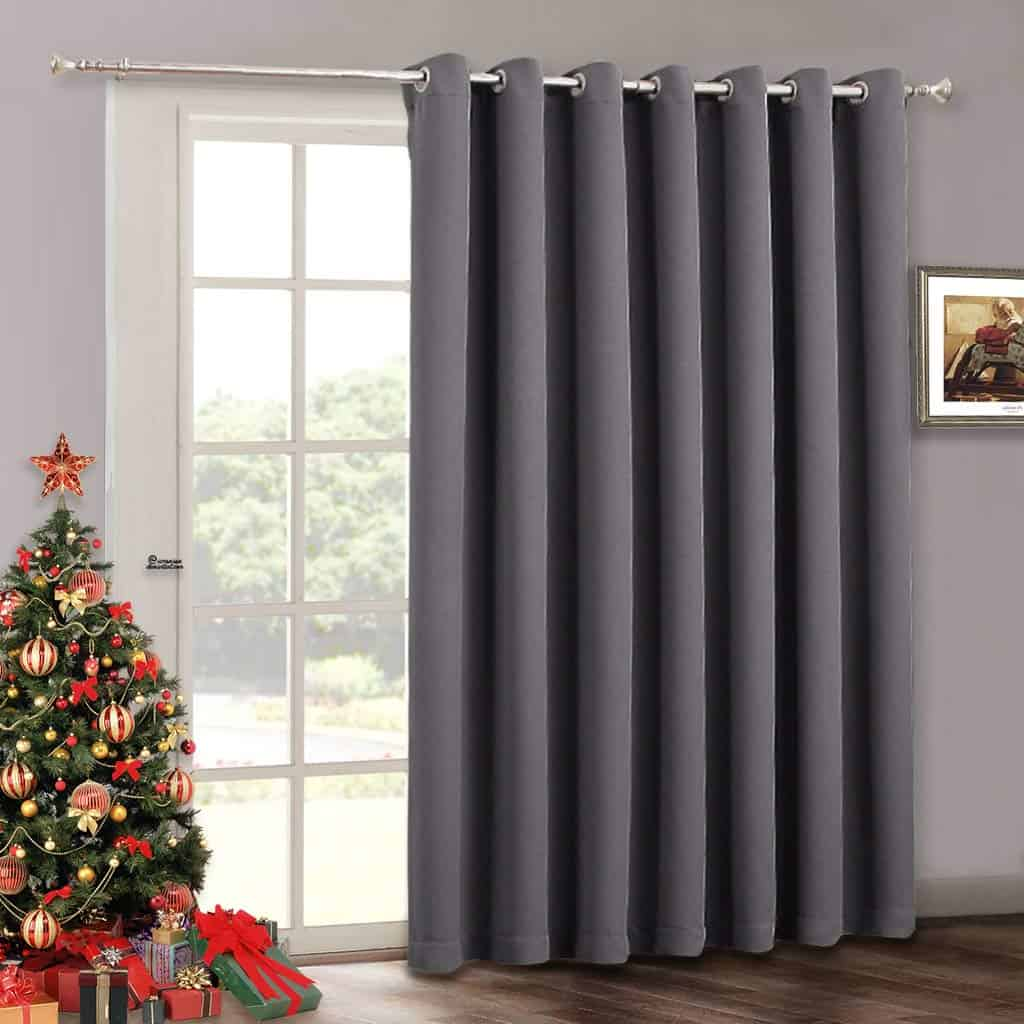 Blackout Patio Door Curtain Blinds - Home Decoration Adjustable Energy Smart Thermal Insulated Vertical Blind patio review