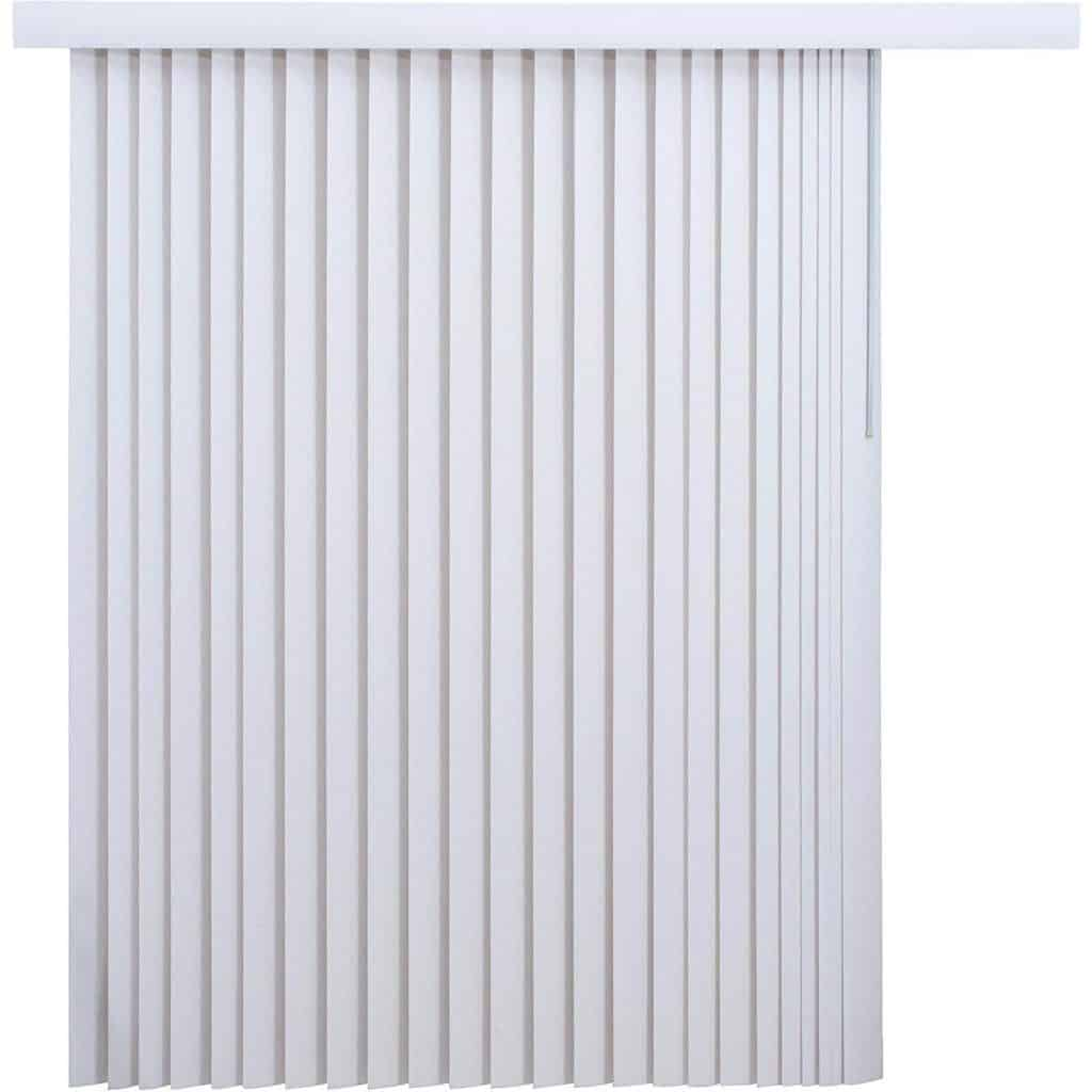 Mainstay* 78 x 84 Light-Filtering Vertical Blinds white best patio door blind