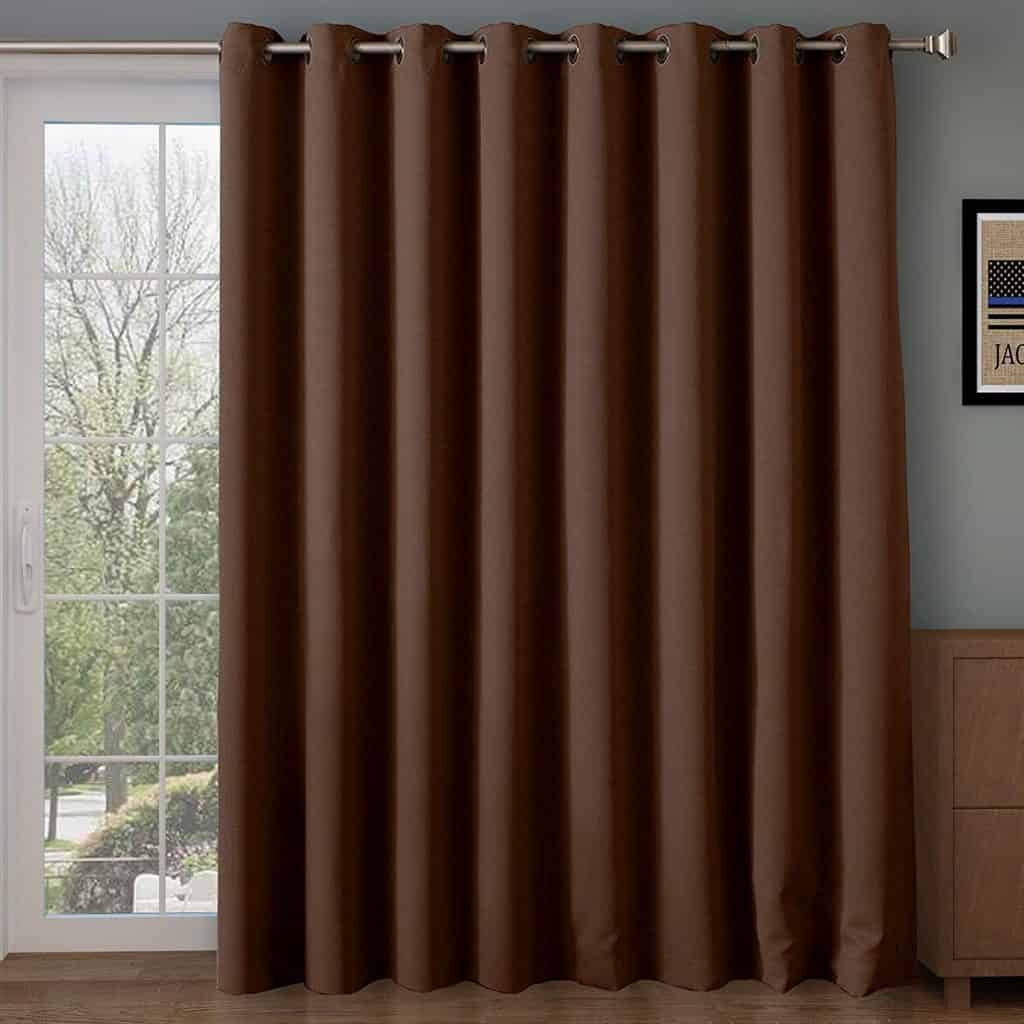 Rose Home Fashion Thermal Insulated Blackout Patio door Curtain Panel review