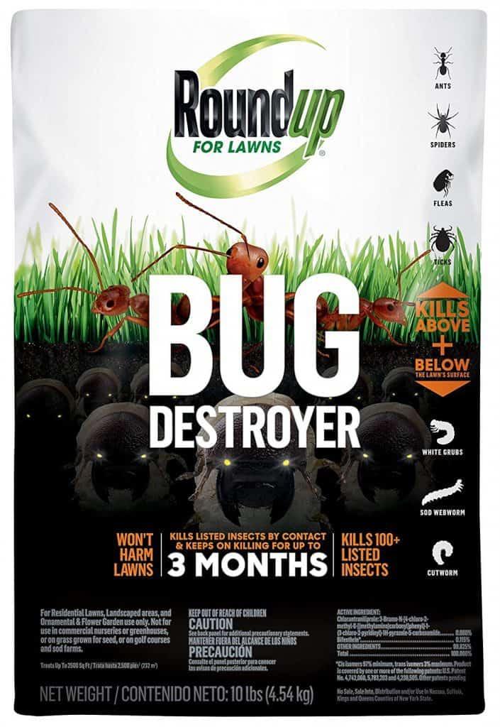 Roundup 4385404 Pest Control, 10 Lb. best lawn grub killers