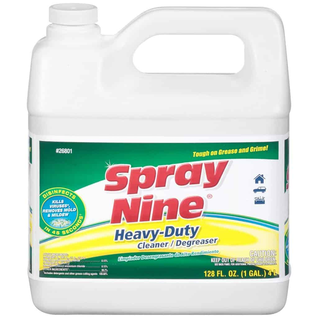 Spray Nine 26801 Heavy Duty Cleaner:Degreaser and Disinfectant best industrial patio cleaner