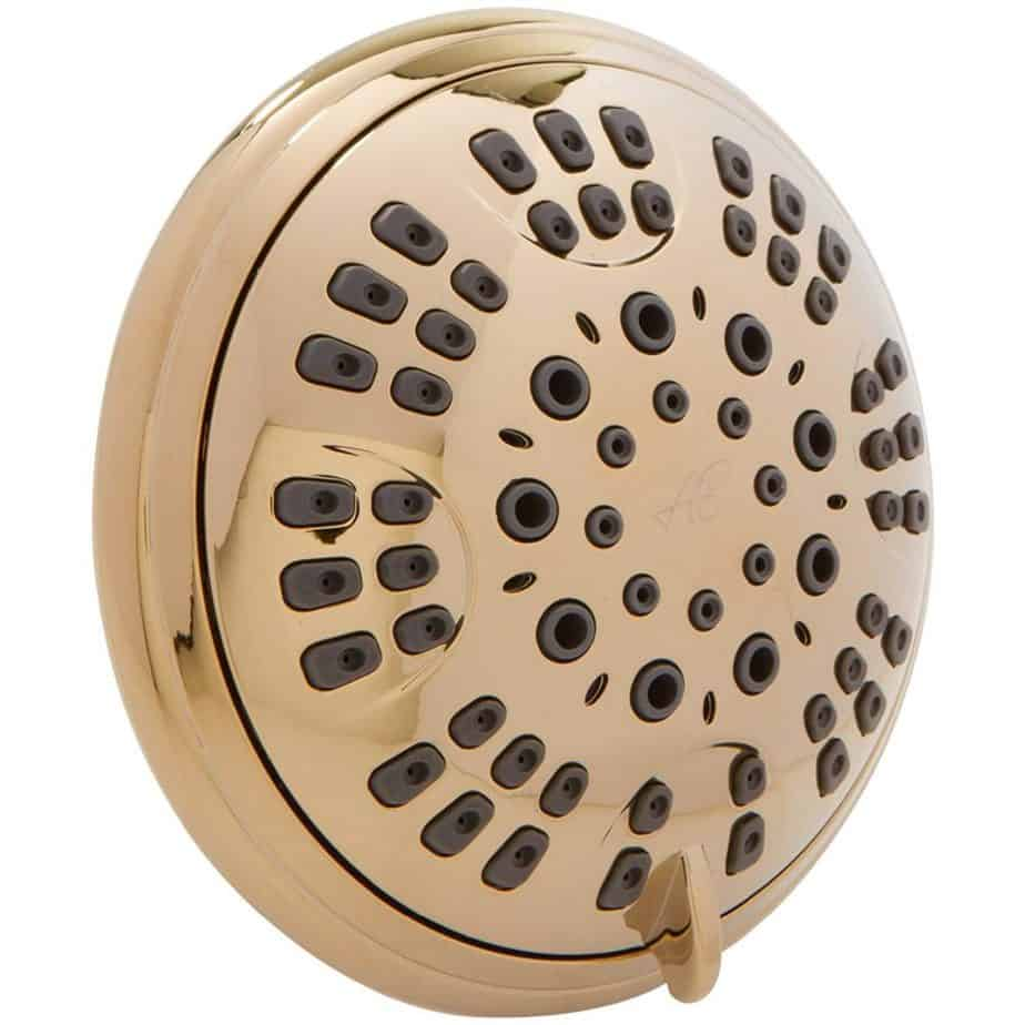 6 Function Luxury Shower Head - Amazing High Pressure, Wall Mount, Adjustable Showerhead - Indoor And Outdoor best shower heads for outdoor showers