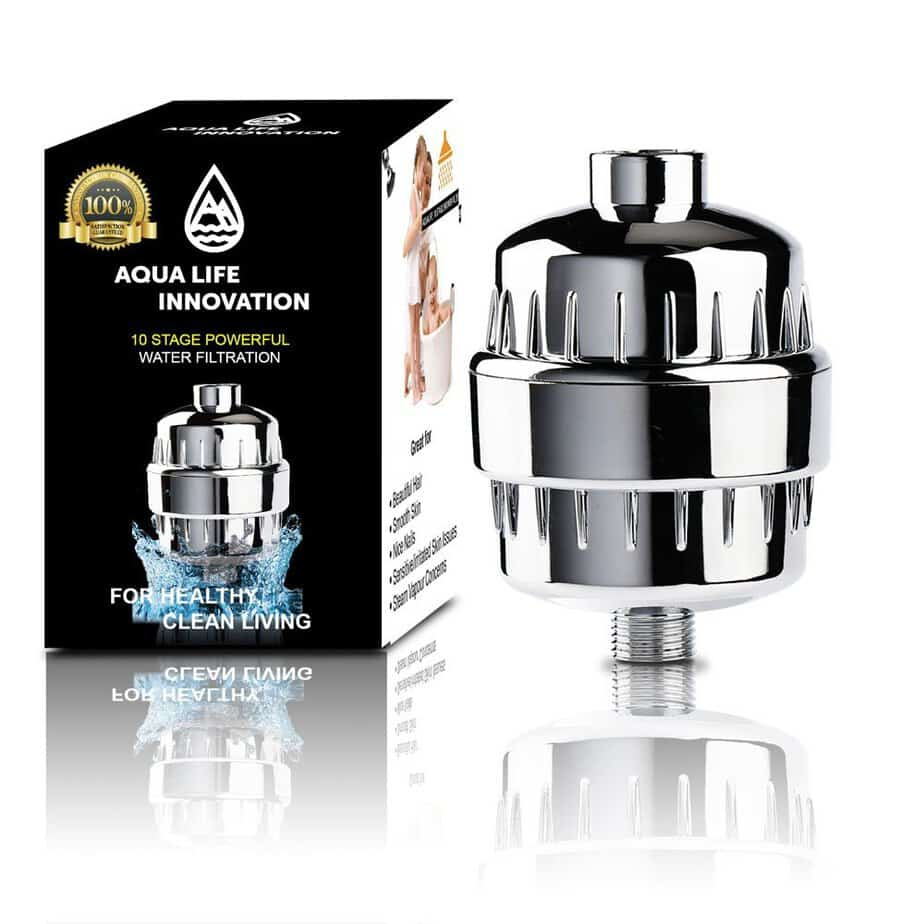 AQUA LIFE INNOVATION 10-Stage Shower Filter - Easy Installation Water Filter best shower filter for blonde hair review