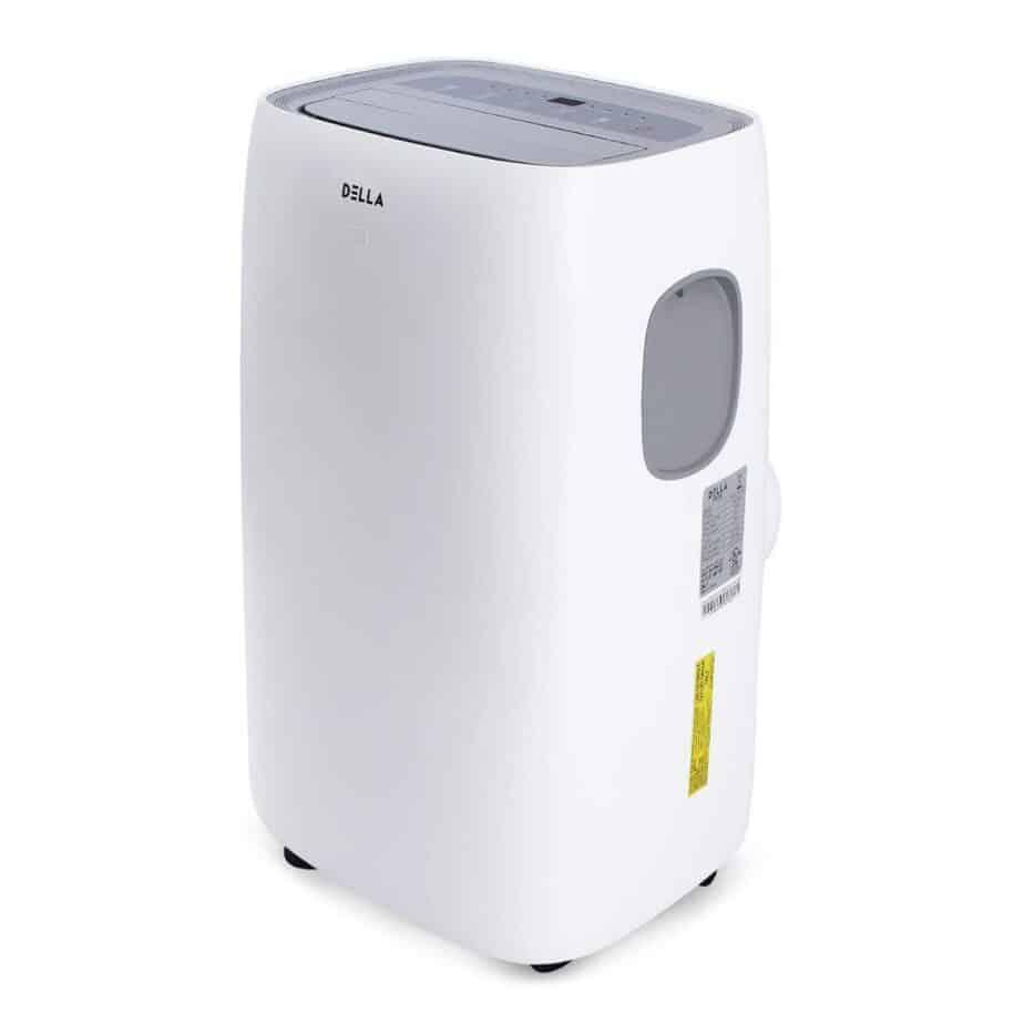 DELLA 10,000 BTU Portable Air Conditioner AC with Self Evaporation System Fan Dehumidifier for Rooms Up To 450 Sq ft best portable air conditioner for allergies