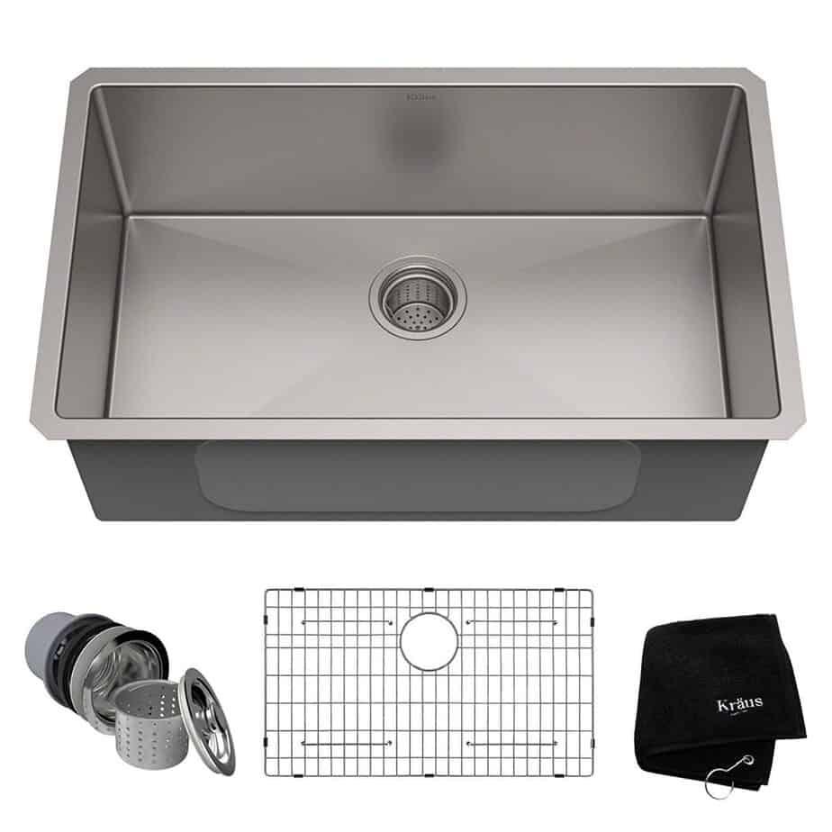 best kitchen sink for hard water