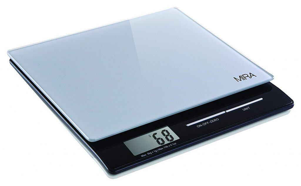 MIRA Digital Kitchen Scale,Food Scale, Slim, Multi-Fuction best kitchen scale for soap making review