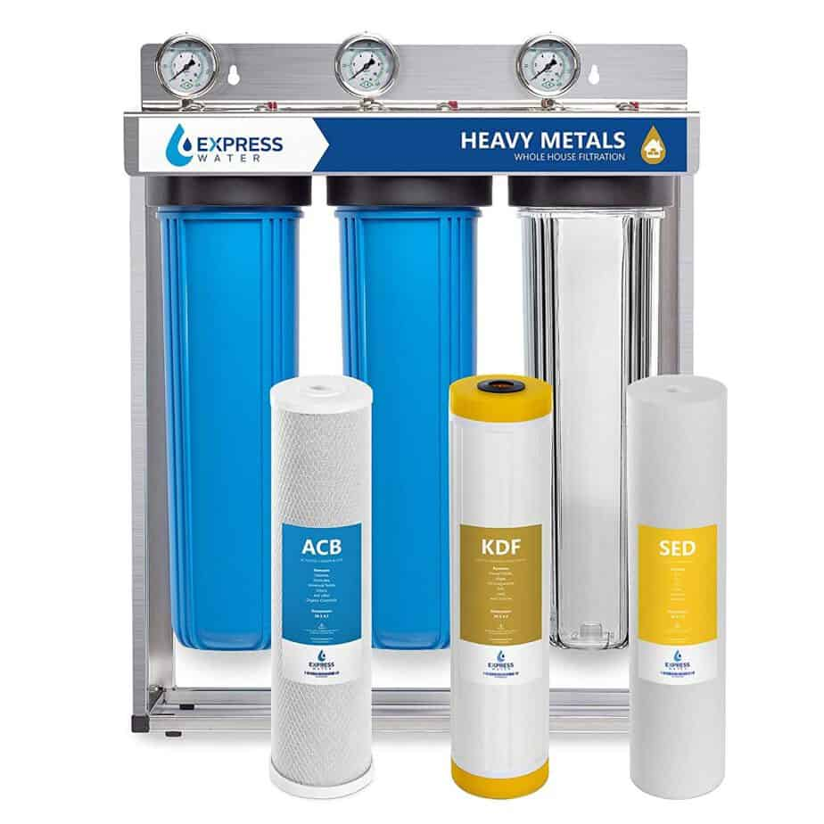 best whole house water filter for hard water