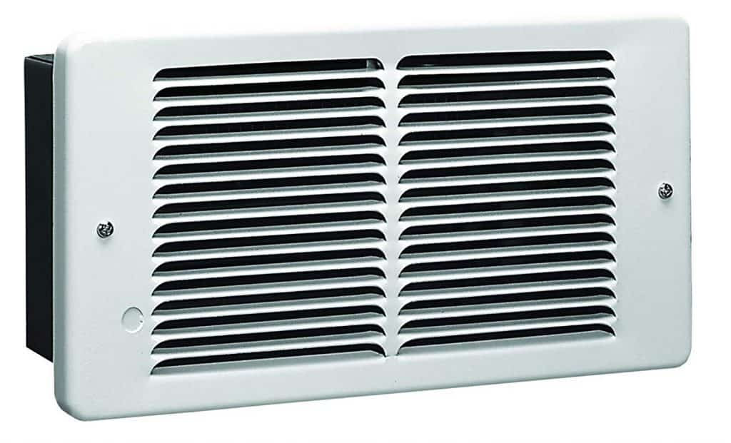 KING PAW2422-W 2250-Watt 240-Volt Pic-A-Watt Wall Heater, White best electric wall heater for bedroom review