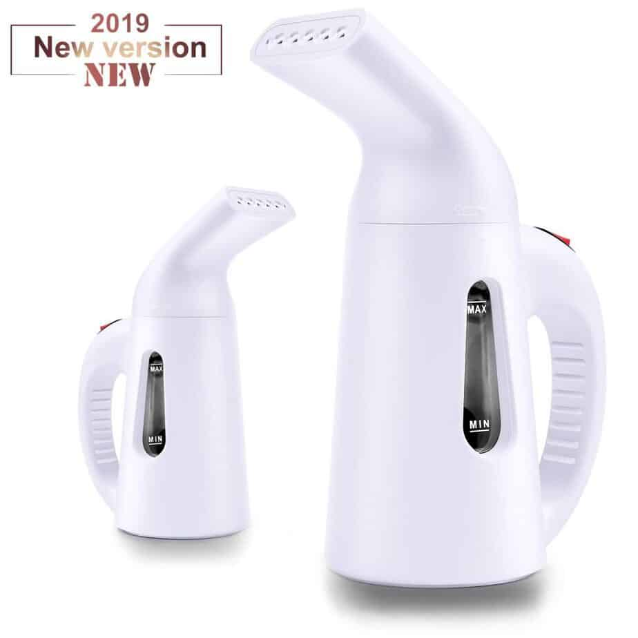 Konliking Garment Steamer 138ml Portable Handheld Fabric Steamers for Clothes Fast Heat-up Powerful Garment Clothes Steamer best clothes steamer for college review