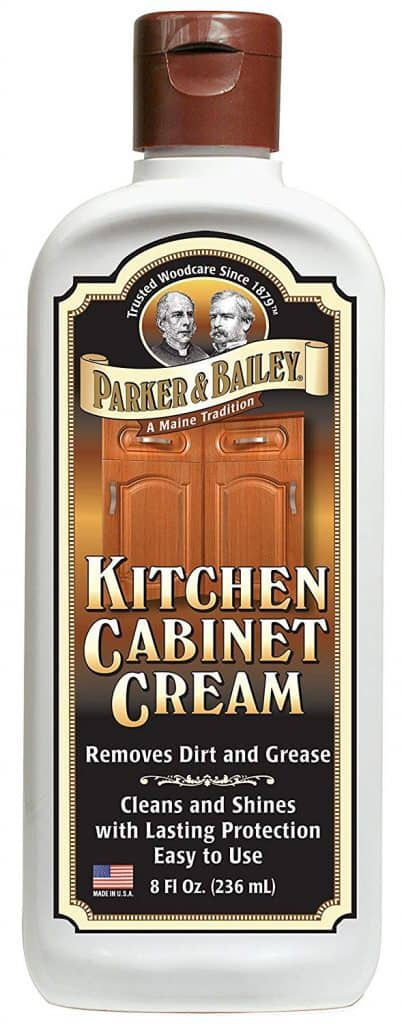Parker & Bailey Kitchen Cabinet Cream 8oz, 8 ounces, White best product to clean kitchen cabinets