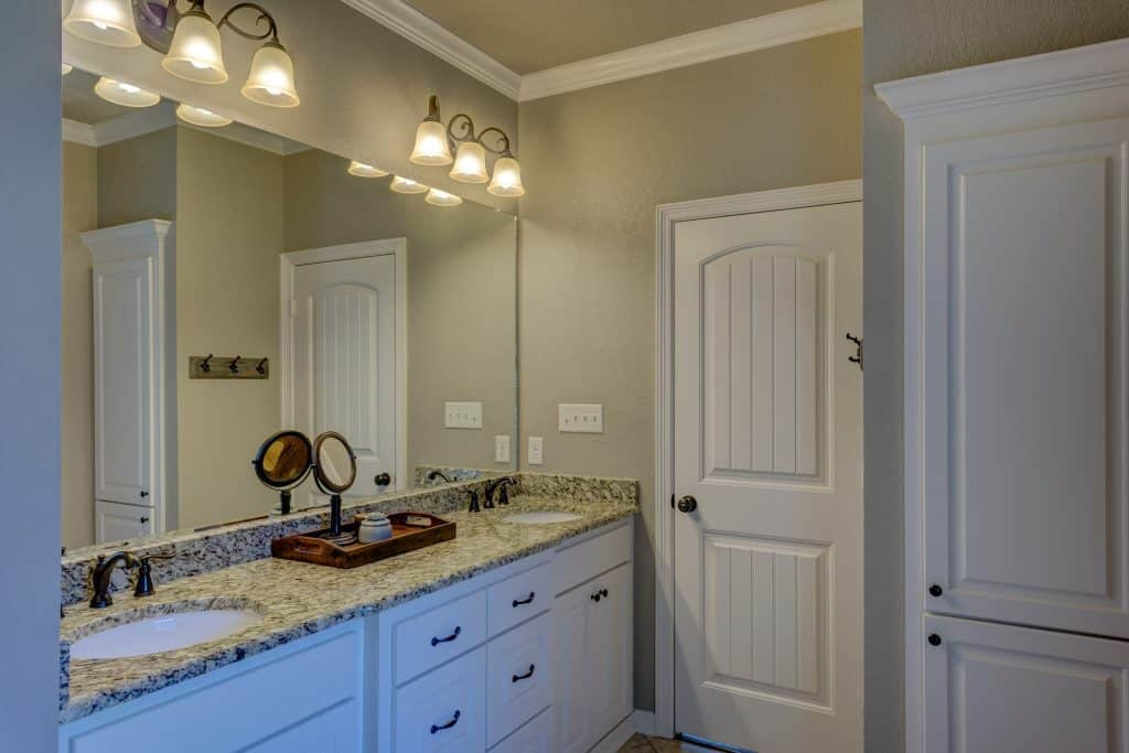 what are cheap bathroom sinks made of