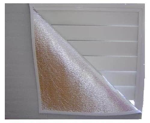 Battic Door Whole House Attic Ceiling Fan Shutter Seal Cover, Fits up to 36 X 48 Attic Fan Shutters best attic fan cover