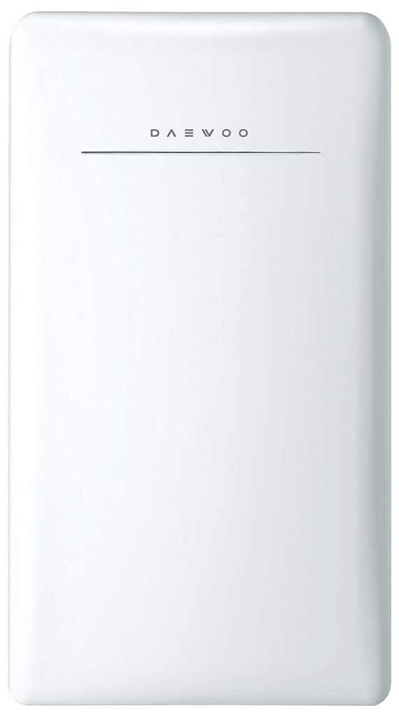 Daewoo FR-044RCNW Retro Compact Refrigerator 4.4 Cu. Ft. Cream White best refrigerator for smallkitchen reviews