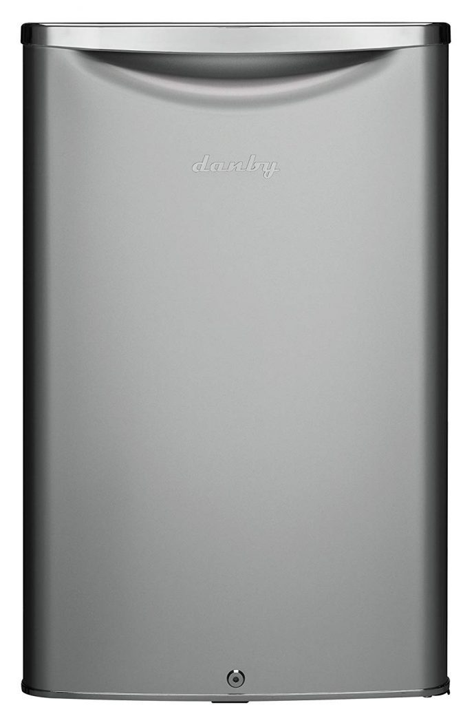 Danby DAR044A6DDB 4.4 cu.ft. Contemporary Classic Compact All Refrigerator, Iridium Silver Steel best refrigerator for smallkitchen review