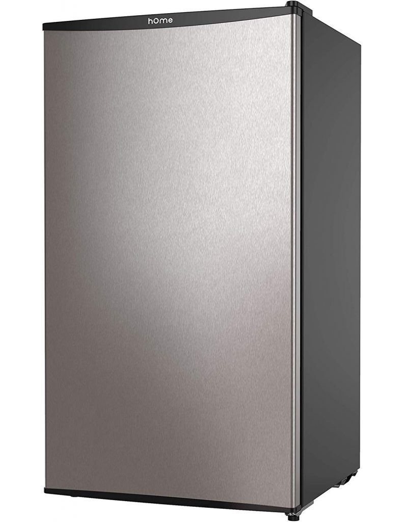 hOmeLabs Mini Fridge - 3.3 Cubic Feet Under Counter Refrigerator with Covered Chiller Compartment - Small Drink Food Storage Machine for Office, Dorm or Apartment best refrigerator for smallkitchen