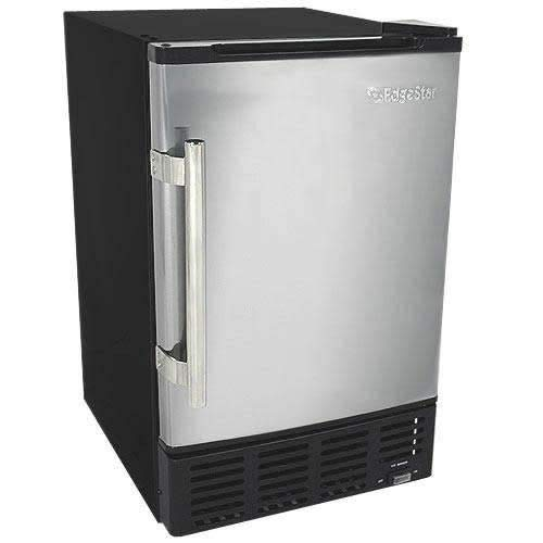 EdgeStar IB120SS Built in Ice Maker, 12 lbs, Stainless Steel and Black best ice maker for home bar review