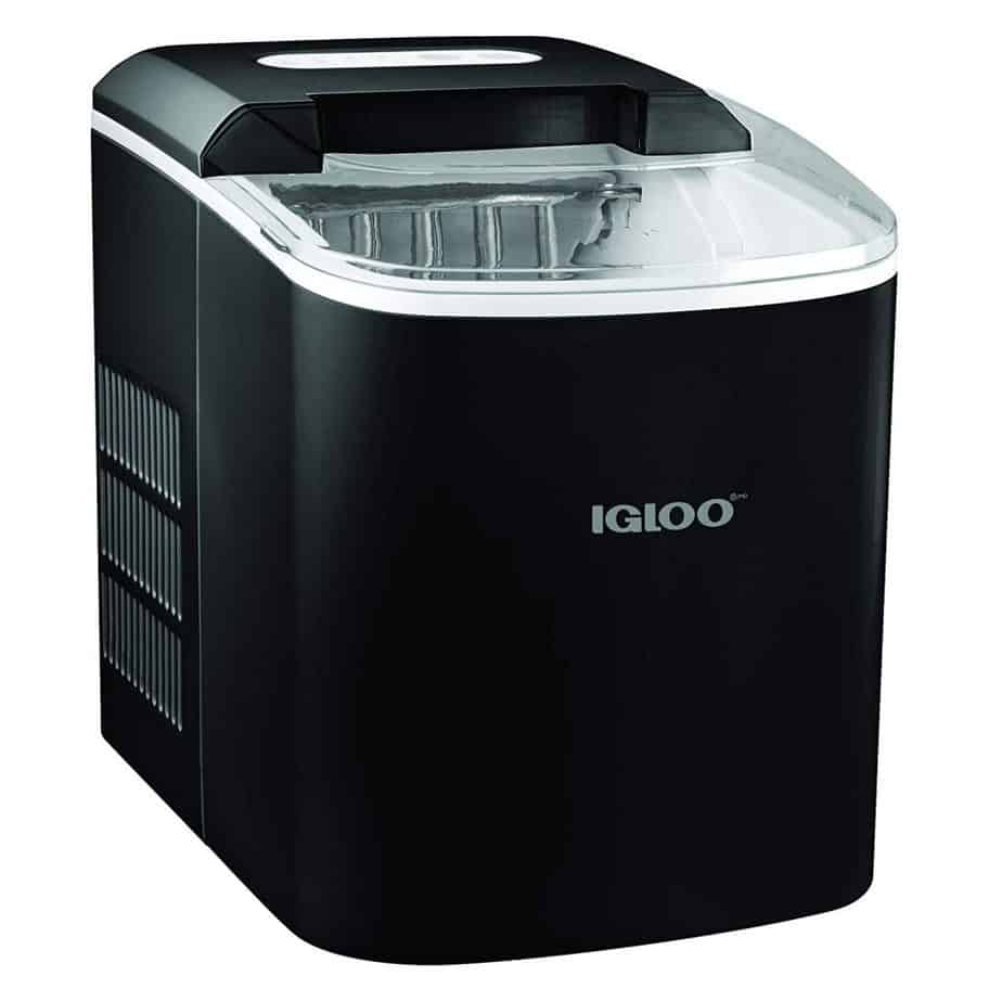 Igloo ICEB26BK Portable 26-Pound Automatic Ice Maker, Black best ice maker for home bar