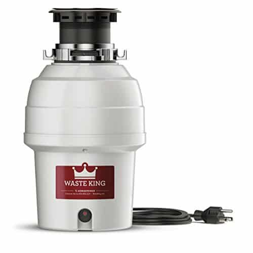 Waste King L-3200 Garbage Disposal with Power Cord, 3 4 HP reviews best garbage disposal for farmhouse sink