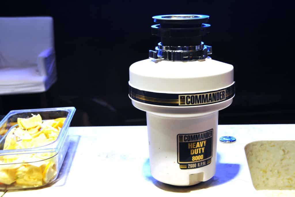 heavy duty what are garbage disposal used for