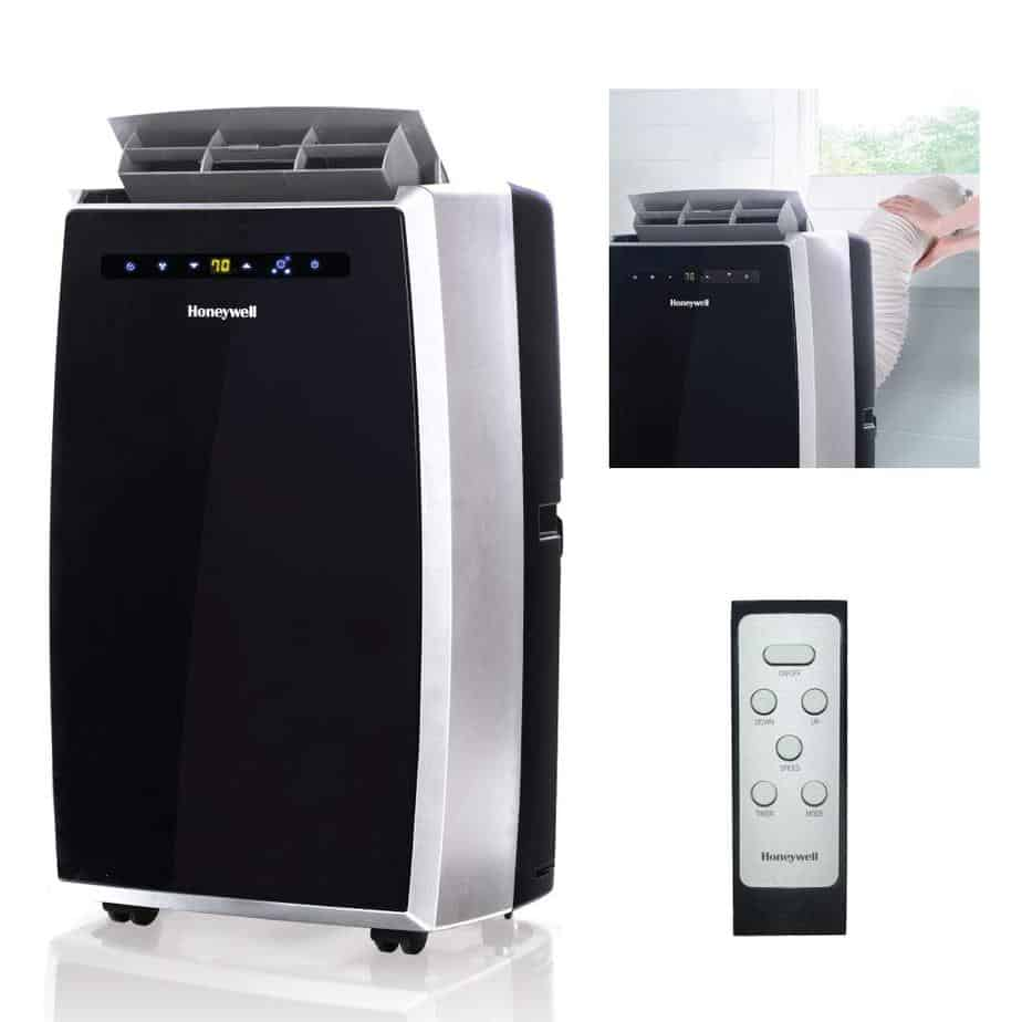 Honeywell Condition MN12CES Portable Air Conditioner with Fan & Dehumidifier  best portable air conditioner for garage