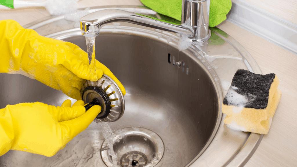 installing new kitchen sink drain