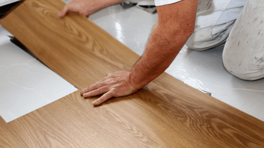 installing vinyl floors in your home step by step