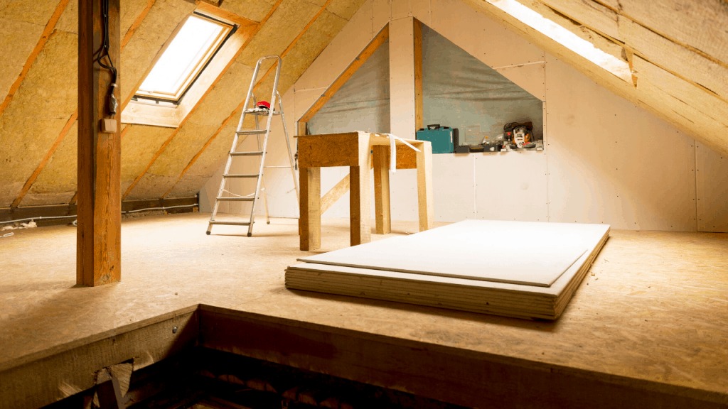 how much weight can an attic hold strength limit