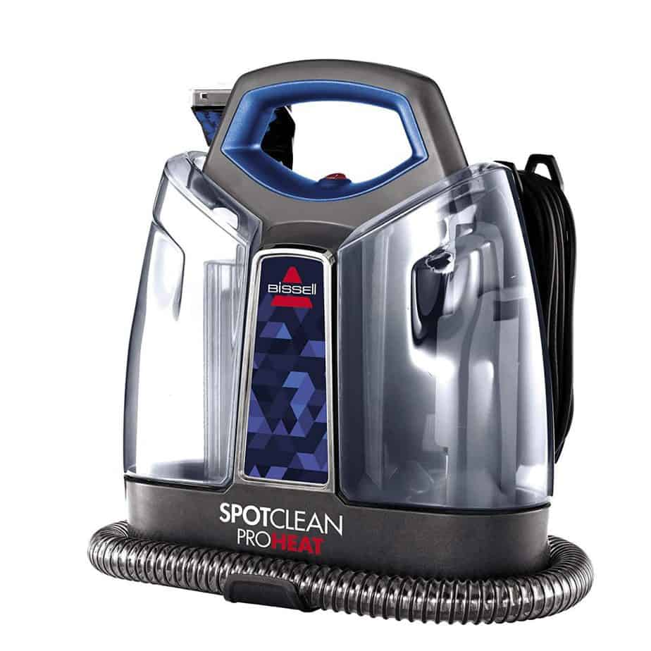 BISSELL SpotClean ProHeat Portable Spot and Stain Carpet Cleaner, 2694 review best carpet cleaner for stairs