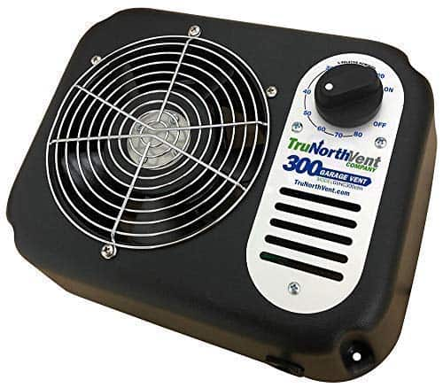 tru north Garage Vent 300 CFM Garage of Unwanted Humidity, Moisture, Mold, Mildew, Odor, and Contaminants review