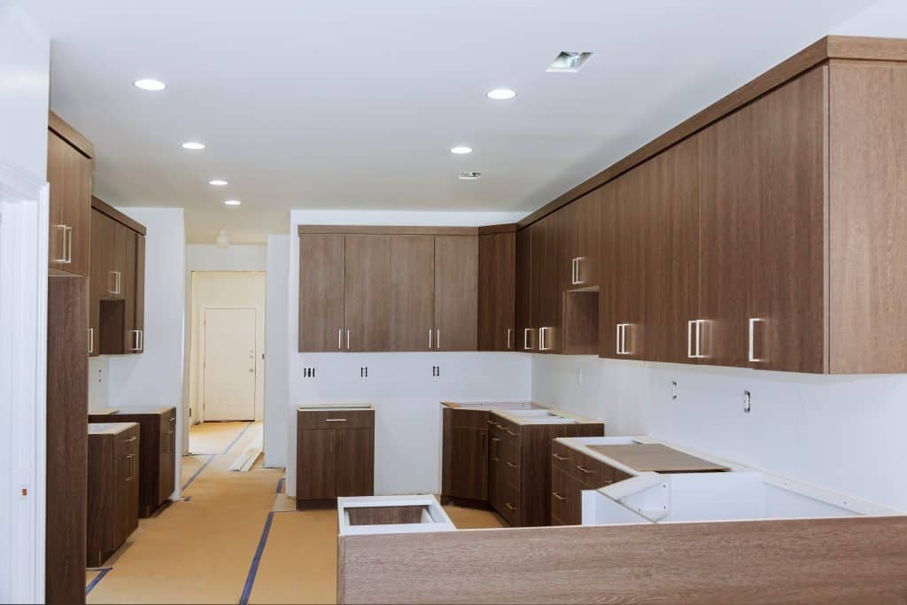 do kitchen cabinets need to match bathroom cabinets