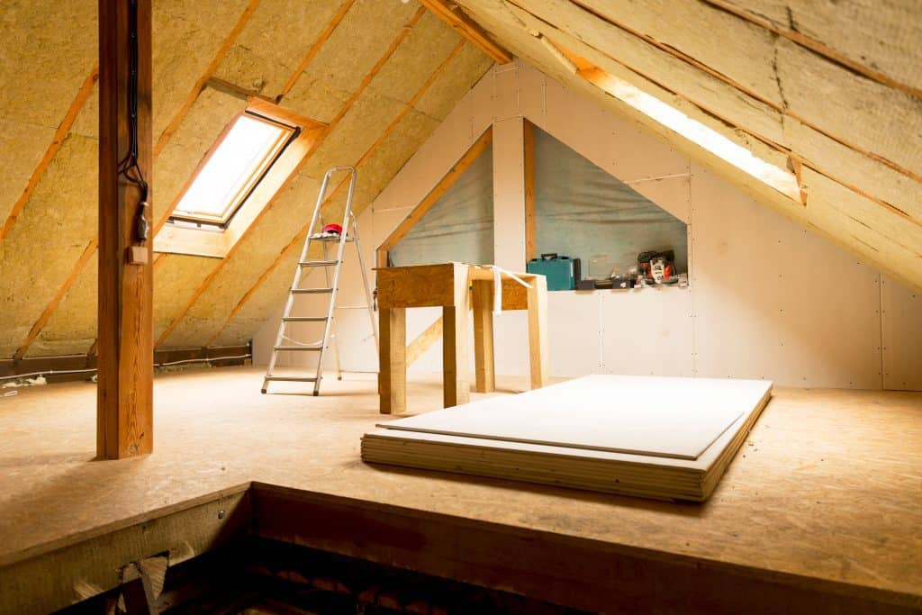 should attic walls be insulated insulating roof cost