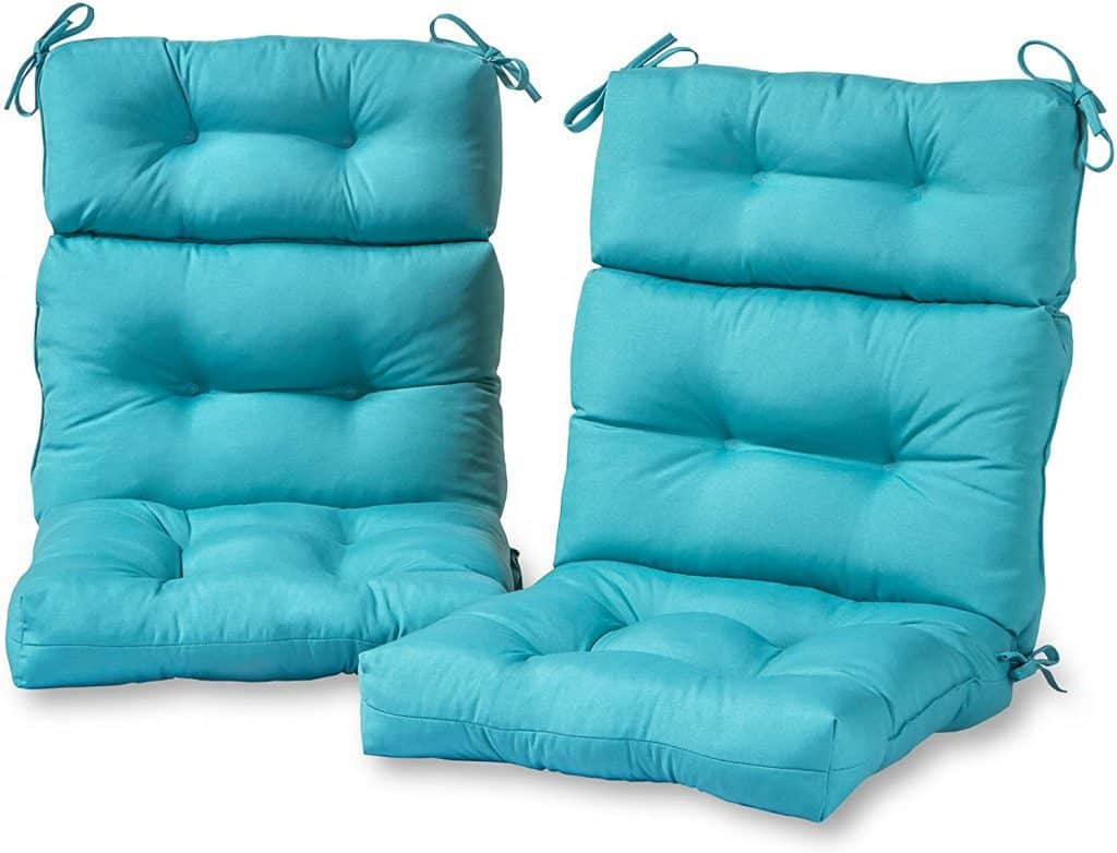Greendale Home Fashions Outdoor High Back Chair Cushion review test