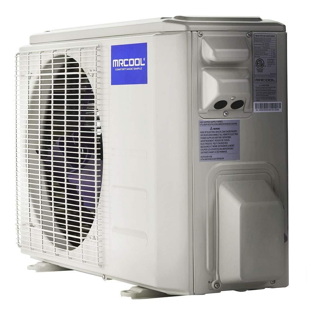 MRCOOL DIY 18k BTU 20 SEER Ductless Heat Pump Split System 3rd Generation test review.jpg
