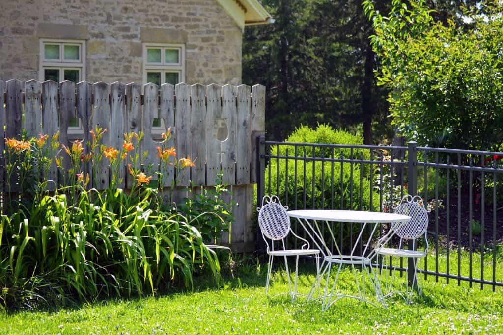 Do Duplexes Share a Backyard