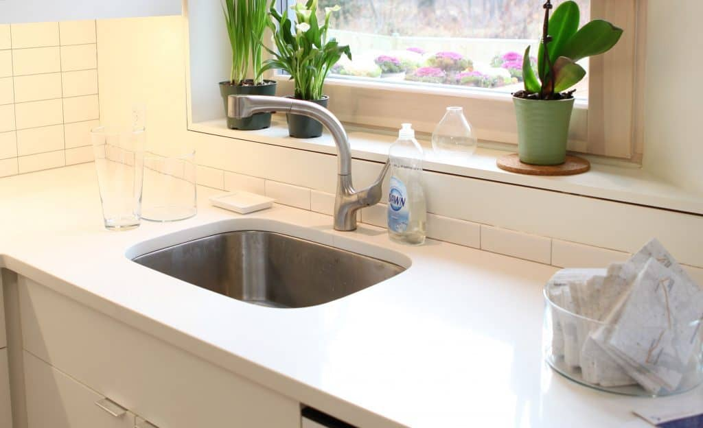 Do you Caulk Around Kitchen Faucet?