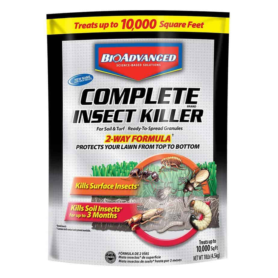 Bayer 700288S Advanced Complete Insect Killer for Soil and Turf Granules best lawn grub killer