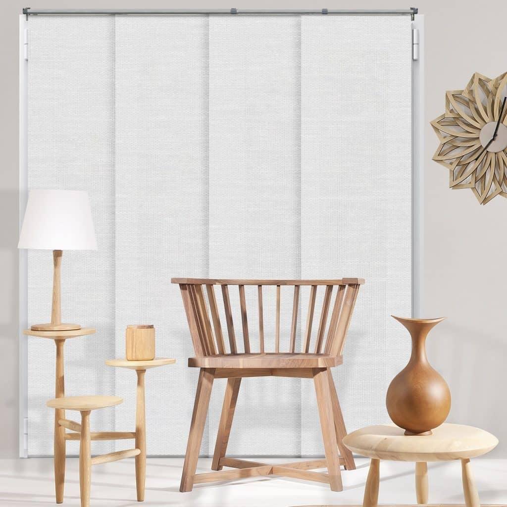 Chicology Adjustable Sliding Panels best patio door blinds