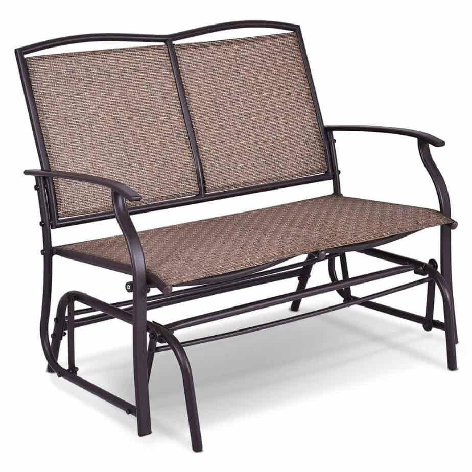 Outstanding The 10 Best Patio Gliders 2019 Lamtechconsult Wood Chair Design Ideas Lamtechconsultcom