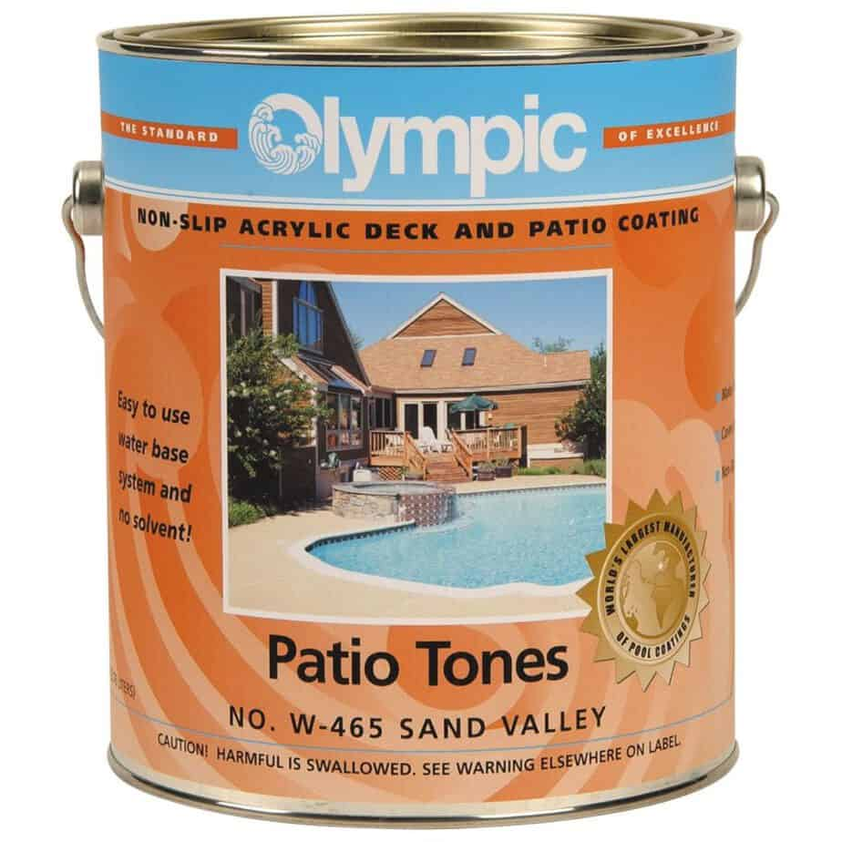 Kelley Technical Olympic Patio Tones Deck Coatings Sand Valley best patio paint concrete review