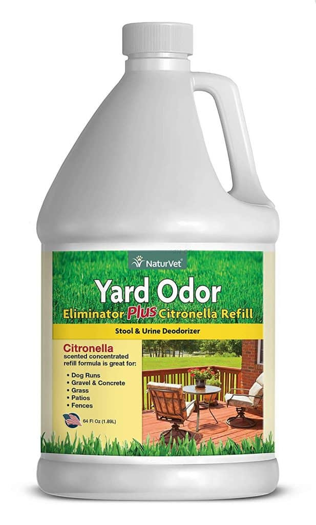 NaturVet – Yard Odor Eliminator Plus Citronella Spray | Eliminate Stool and Urine Odors from Lawn and Yard best industrial patio cleaner reviews