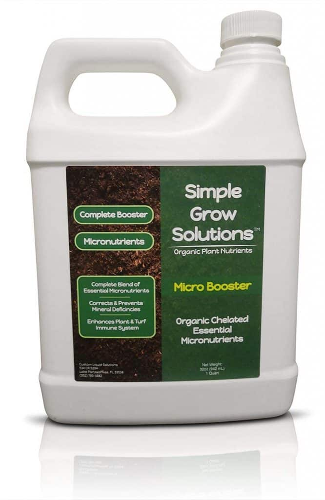 Pure Organic Micronutrient Booster- Complete Plant & Turf Nutrients- Simple Grow Solutions best lawn booster review