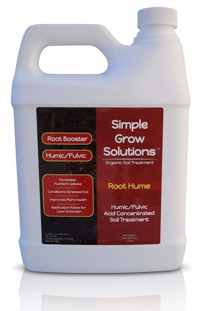 Raw Organic Humic Fulvic Acid- Liquid Carbon - Root Hume- Simple Grow Solutions best lawn boosters review