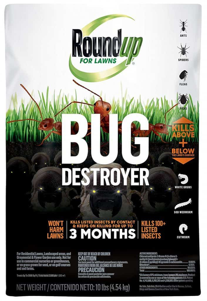 Roundup 4385404 Pest Control, 10 Lb. best lawn grub killers
