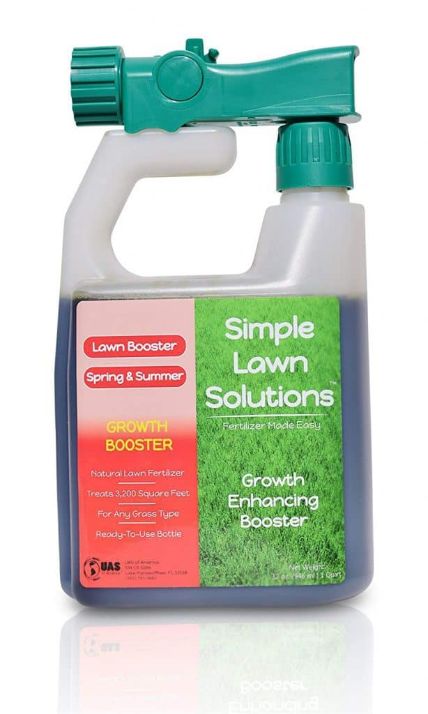 Simple Lawn Solutions Extreme Grass Growth Lawn Booster best lawn booster