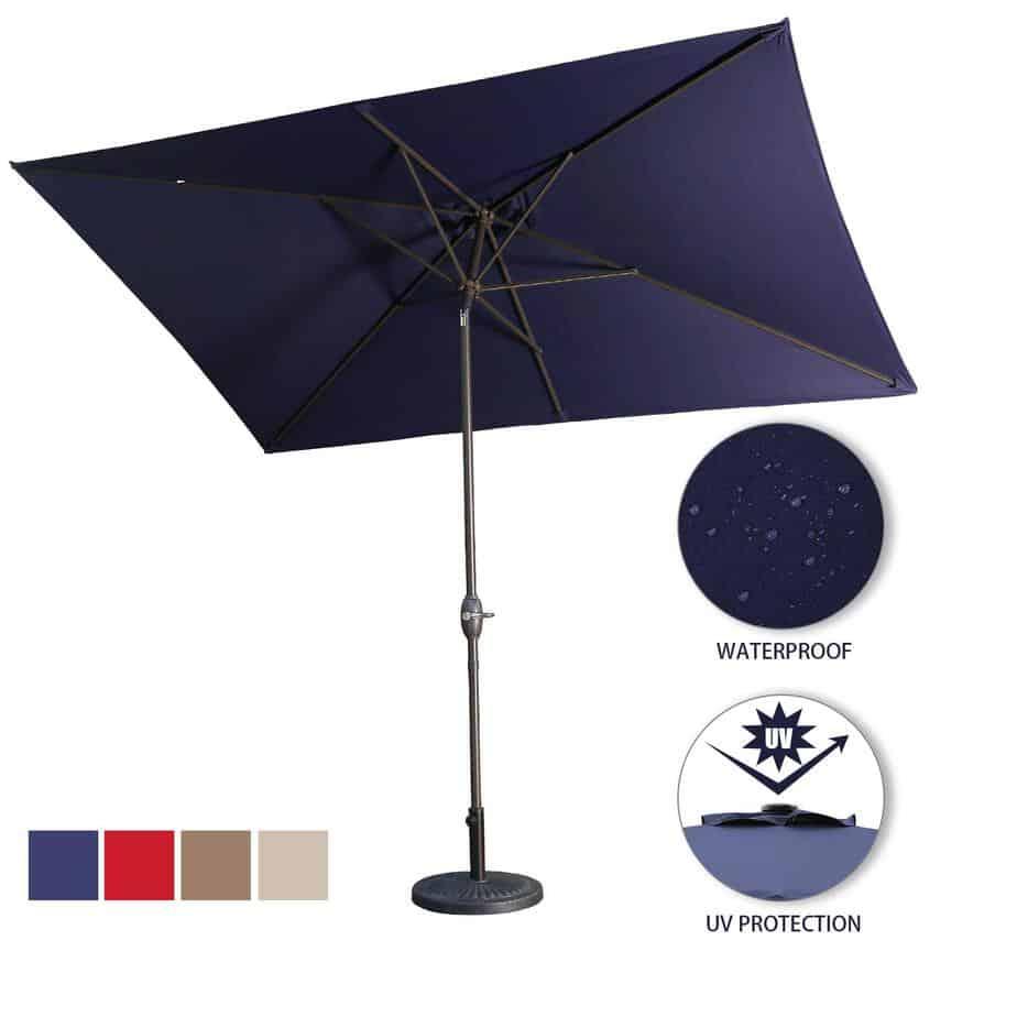 best square patio umbrella