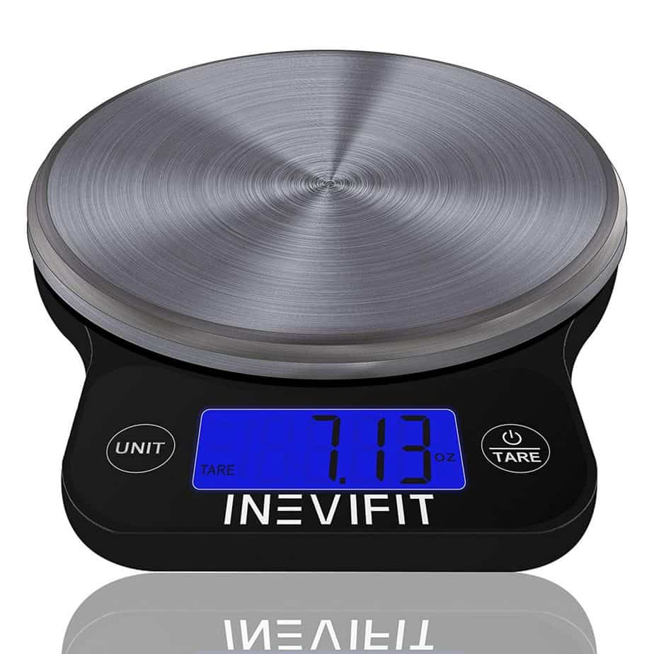 INEVIFIT DIGITAL KITCHEN SCALE, Highly Accurate Multifunction Food Scale best kitchen scale for soap making