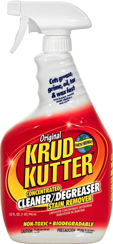 KRUD KUTTER KK32 Original Concentrated Cleaner Degreaser, 32-Ounce best product to clean kitchen cabinets
