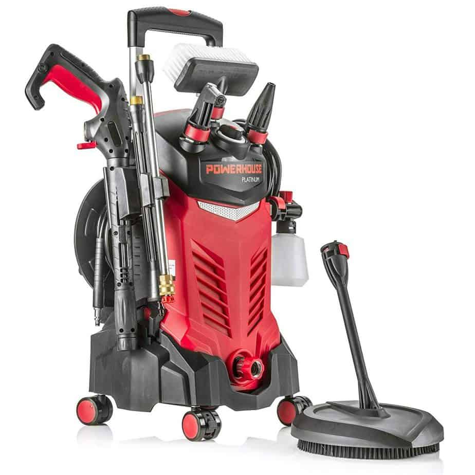 Powerhouse International - Electric High Power- Pressure Washer - 3000 PSI 2.2 GPM - Power Washer best pressure washer for 2 story house review