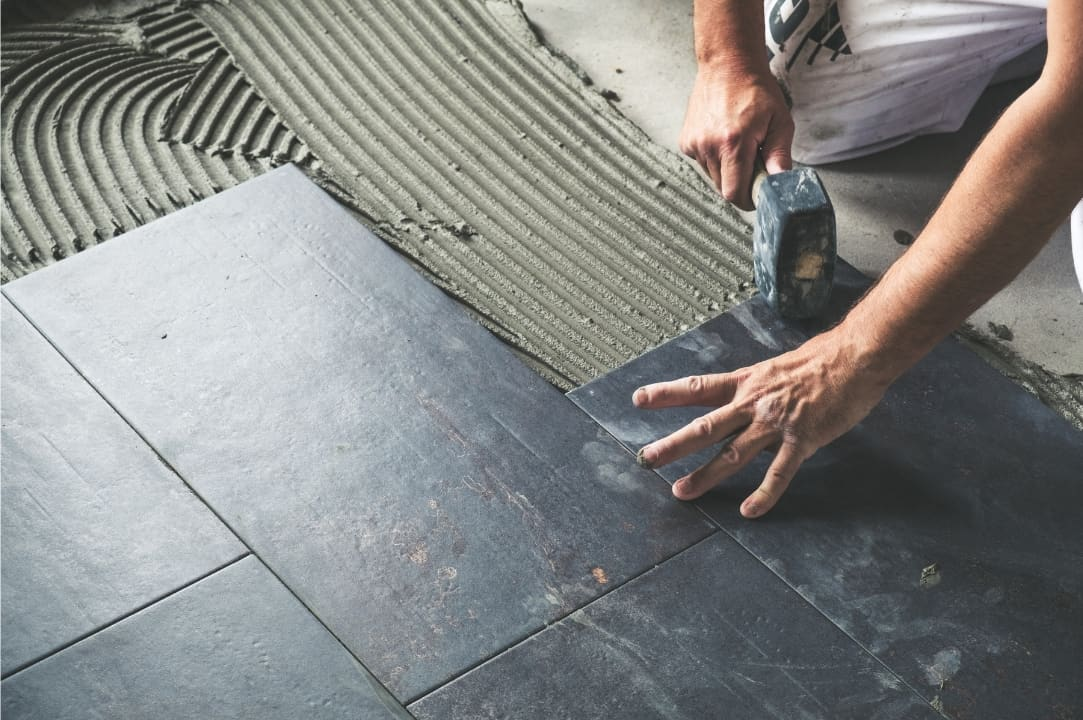 Kitchen Floor Tiles Staggered Or Straight Pros And Cons Best Home Fixer