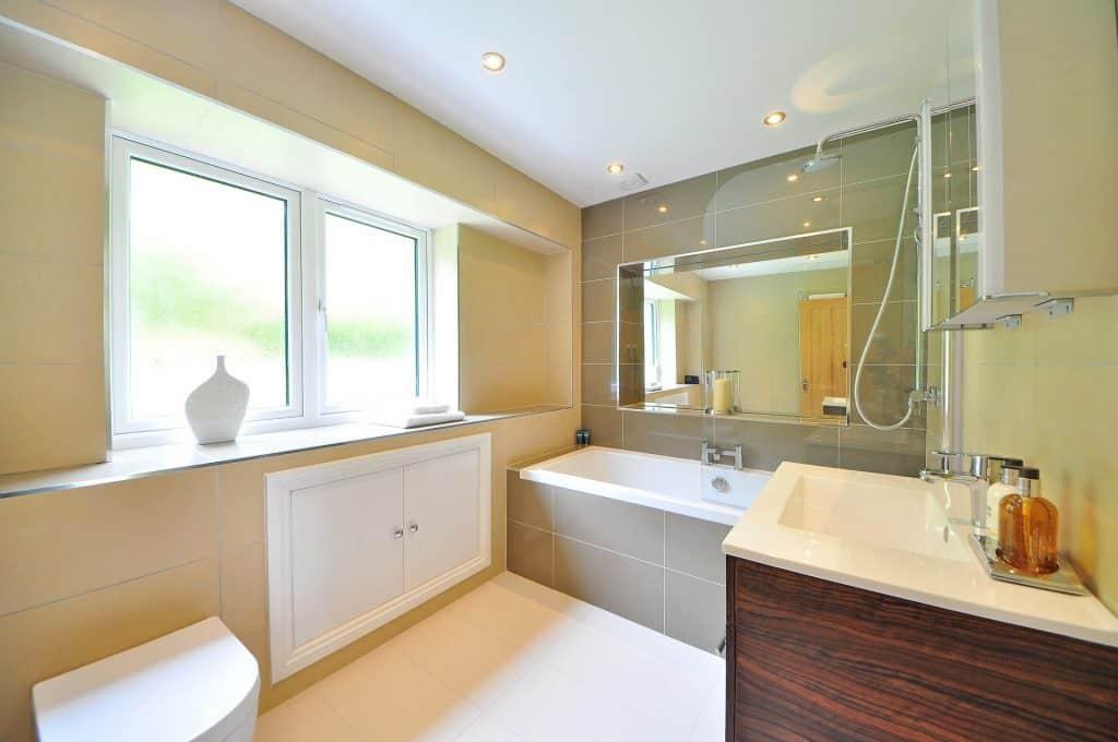 what bathroom tile is easiest to clean